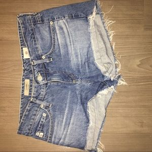 AG cut off Jean shorts size  25